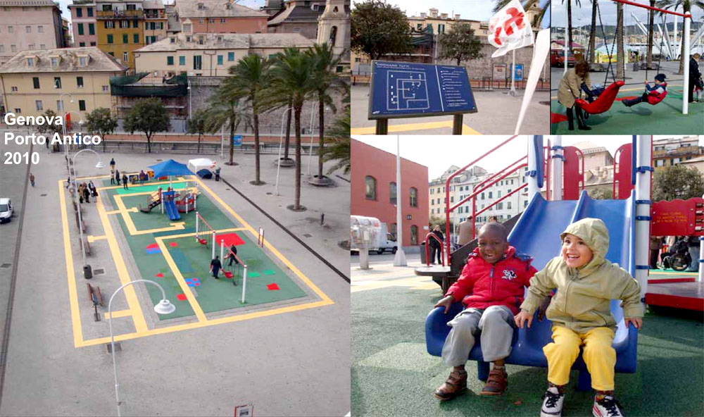 Accessible and inclusive playground, Genova